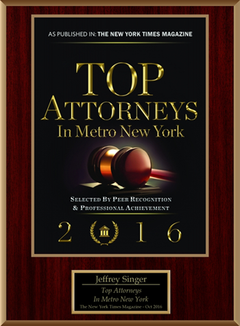Top attorneys in metro new york 2016